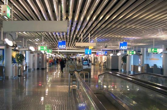 Frankfurt airport concourse A