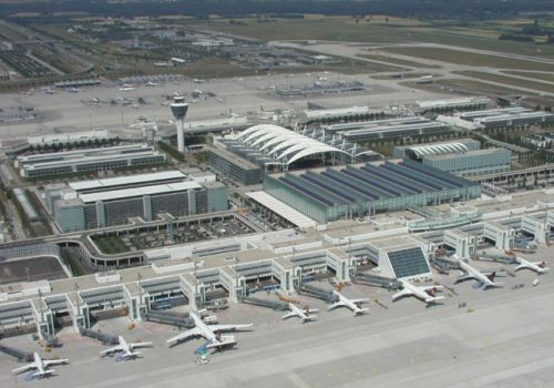 Munich airport (Photo by FMG)