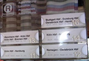 Reservation tags